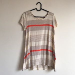 Anthropologie Tunic | Striped by Puella